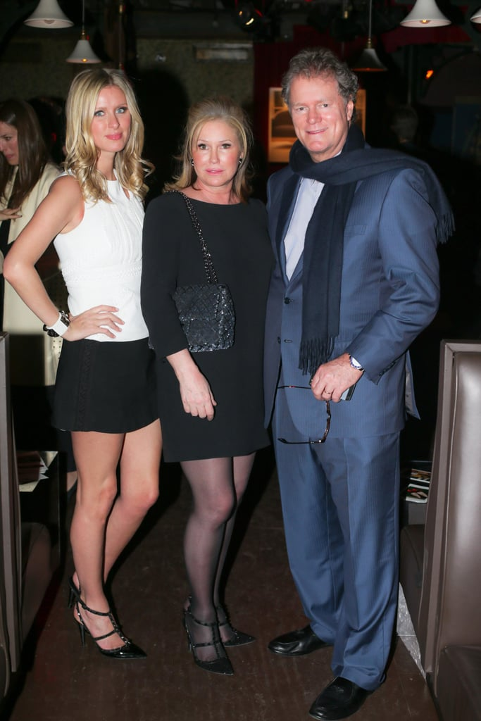 Nicky Hilton was joined by her parents, Rick and Kathy Hilton, for Ferragamo's launch party in NYC.