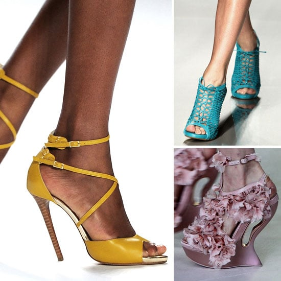 Pictures of The Best Designer Shoes From The Spring Summer 2012 Runways at Paris Fashion Week: Chanel, Chloe & more!