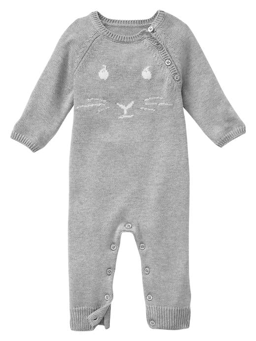 BabyGap Peter Rabbit Intarsia One-Piece