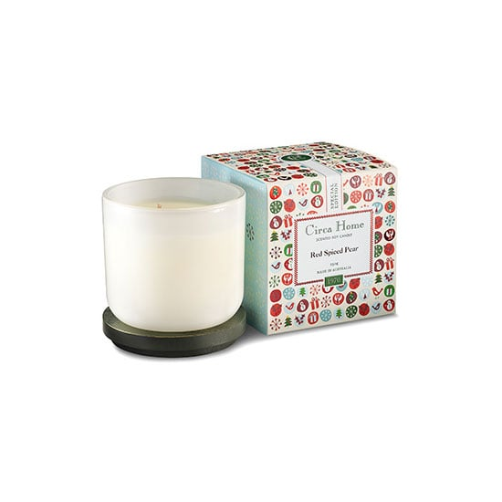 Circa Home Special Edition Red Spiced Pear Candle, $29.95
