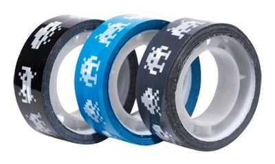 Space Invaders Packing Tape