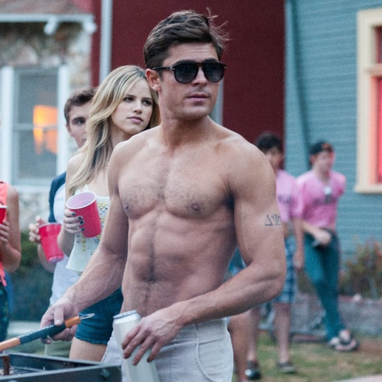 Hot Zac Efron Pictures in Bad Neighbours
