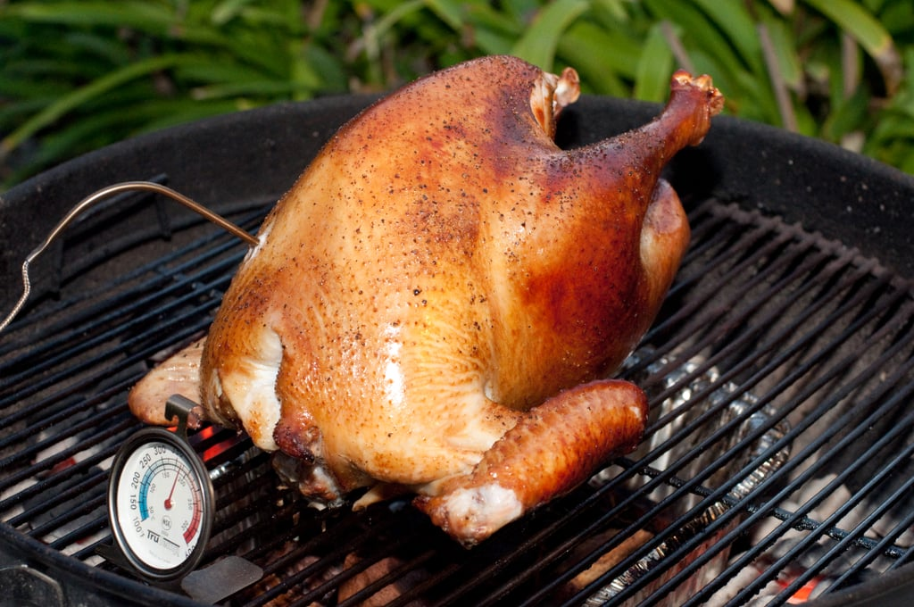 Grilled Turkey and an Asian Game Hen