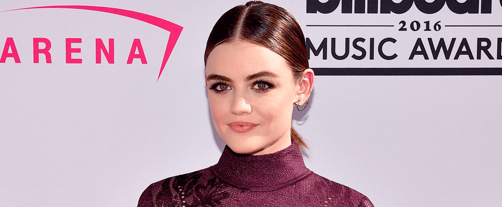 You Have to See Lucy Hale's Baby Braid From the Back