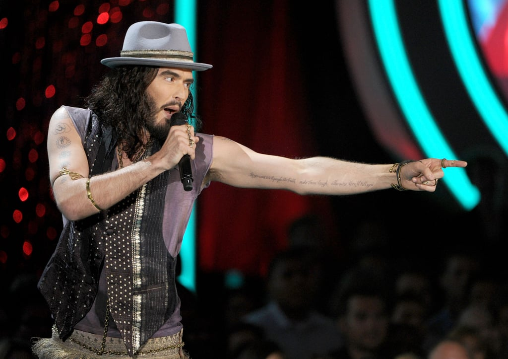 Russell Brand hosted this year's show.
