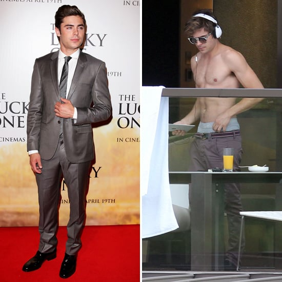 Zac Efron Suits Up For The Lucky One's Sydney Premiere After a Shirtless Easter Weekend