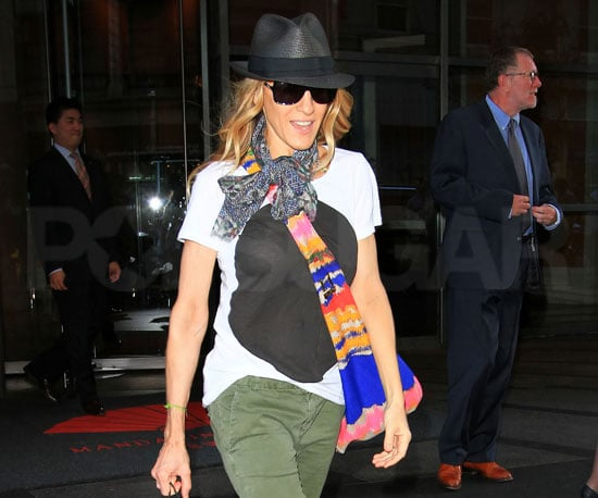 Picture Slide of Sarah Jessica Parker Out in NYC Following The Sex And The City 2 Press Junket