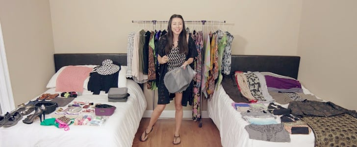 Watch This Woman Pack More Than 100 Things Into a TINY Carry-On Bag