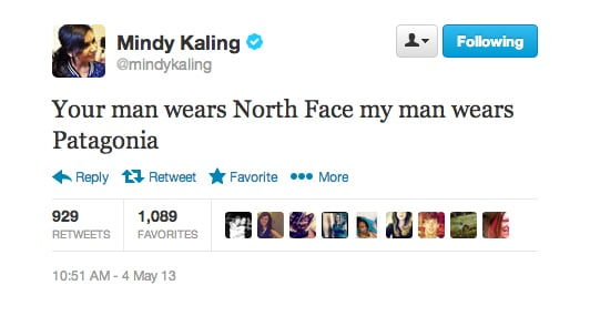 Mindy Kaling created a male version of the Jackie vs. Marilyn theory.