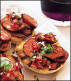 Sunday BBQ: Grilled Chorizo with Salsa
