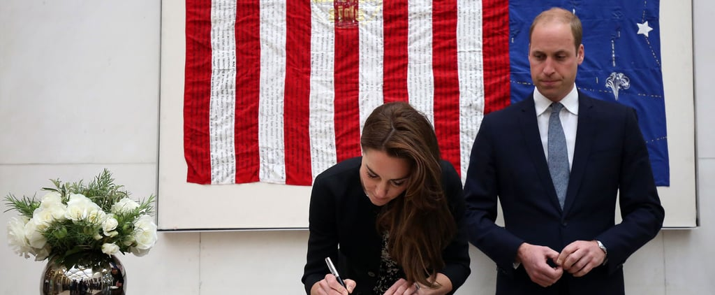 The Duke and Duchess of Cambridge Honour the Victims of the Orlando Nightclub Shooting