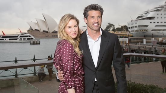 Renee Zellweger and Patrick Dempsey Make a Stunning Pair Ahead of 'Bridget Jones's Baby'