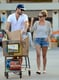 Lauren Conrad and William Tell went grocery shopping after their engagement news.