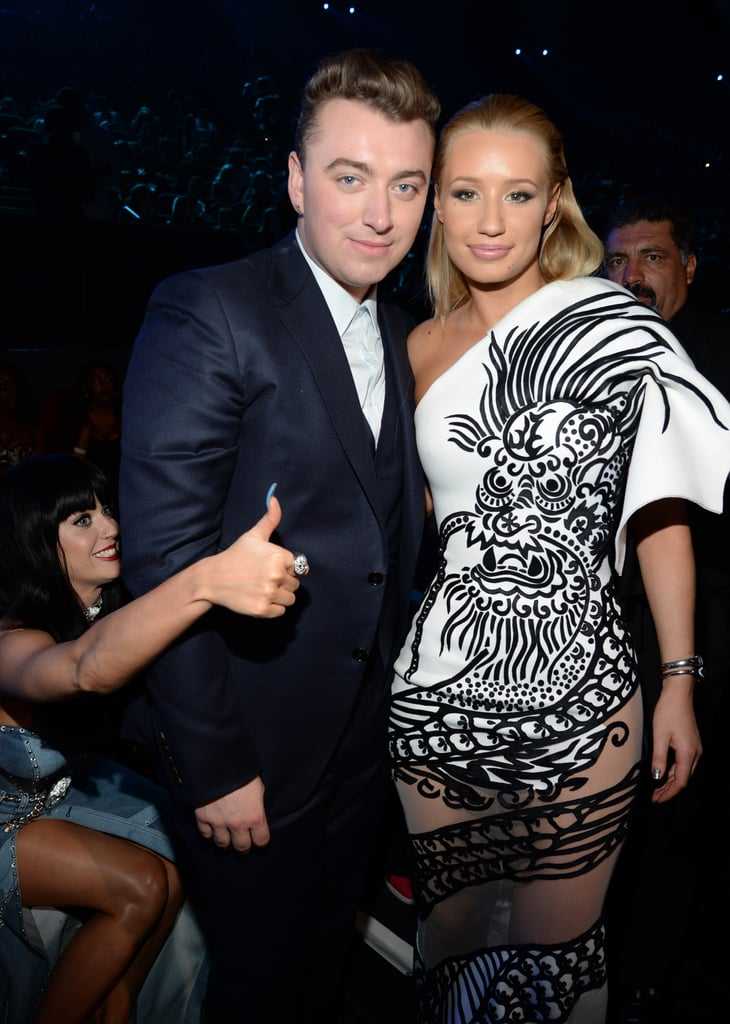 Sam Smith and Iggy Azalea