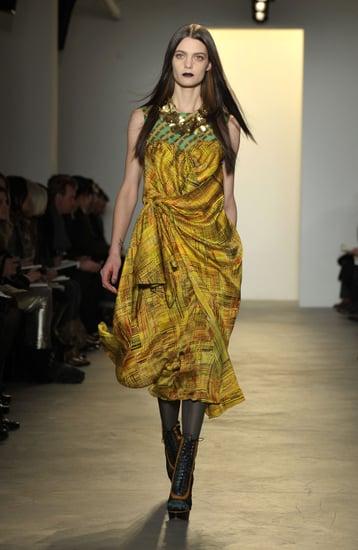 New York Fashion Week: Peter Som Fall 2010