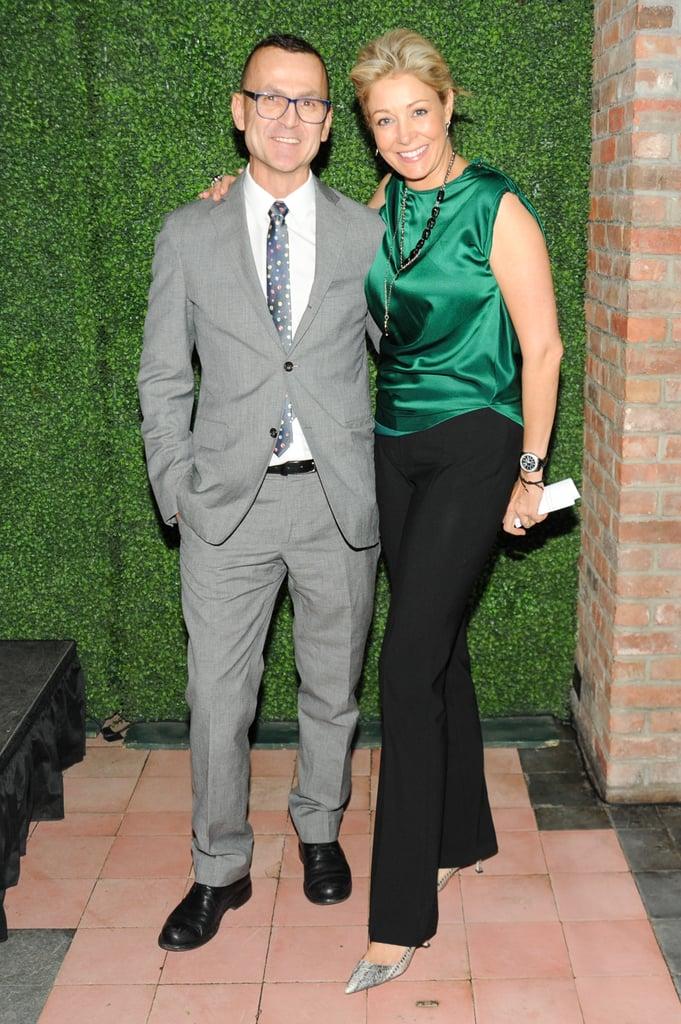 Steven Kolb and Nadja Swarovski