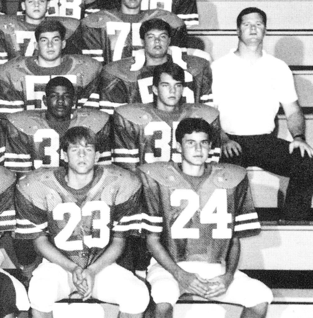 Ryan Seacrest was on the football team.