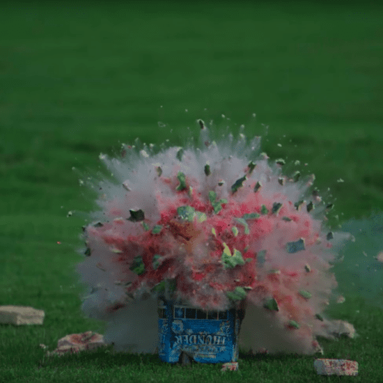 What an Exploding Watermelon Looks Like