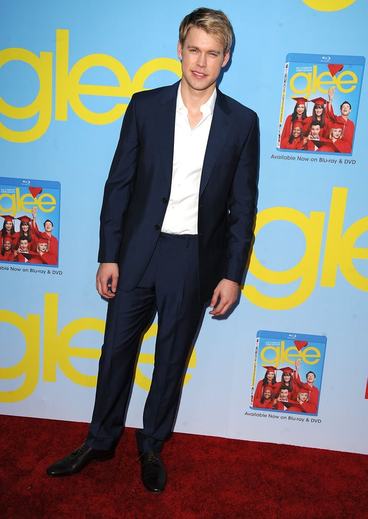Chord Overstreet wore a suit.