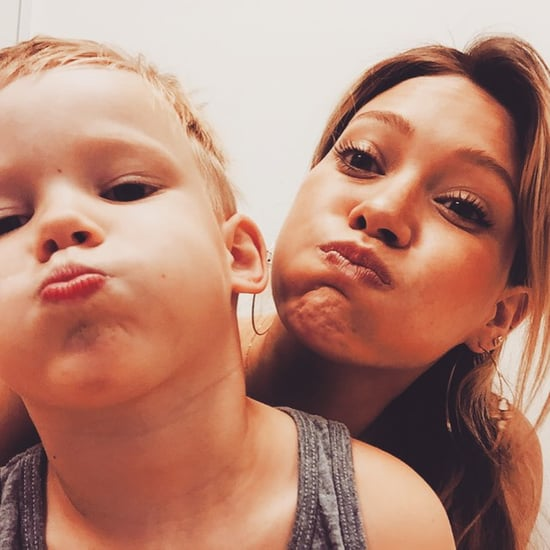 Hilary Duff Posts Picture With Son Luca on Instagram