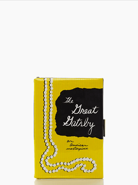 If you've been eyeing a quirky-cute book clutch ($139, originally $328) but were scared off by the price tag, now might be the chance to scoop one up.
