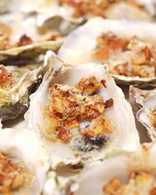 Chanterelle and Parmesan Oysters Recipe