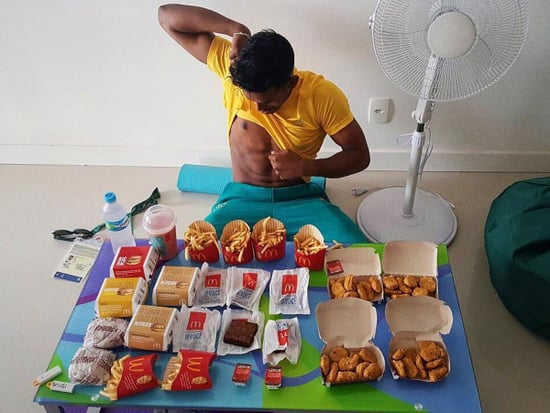 Olympian Goes All-Out on a McDonald's Cheat Day Feast After He Finishes Competing