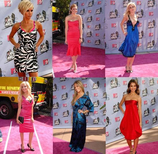 MTV Movie Awards Trend: Bold Hues