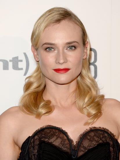 Diane Kruger's Red Lips and Wavy Hair at Critics' Choice