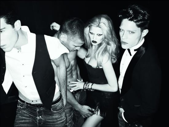 Dean and Dan Caten Leave Lara Stone to Covort with Male Models for Fall 2009 DSquared2 Campaign