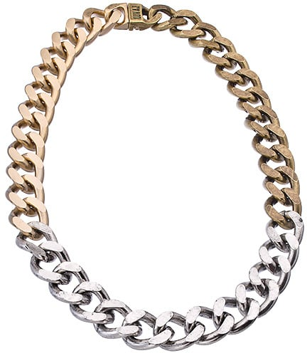 Luv AJ Ombre Chain Necklace