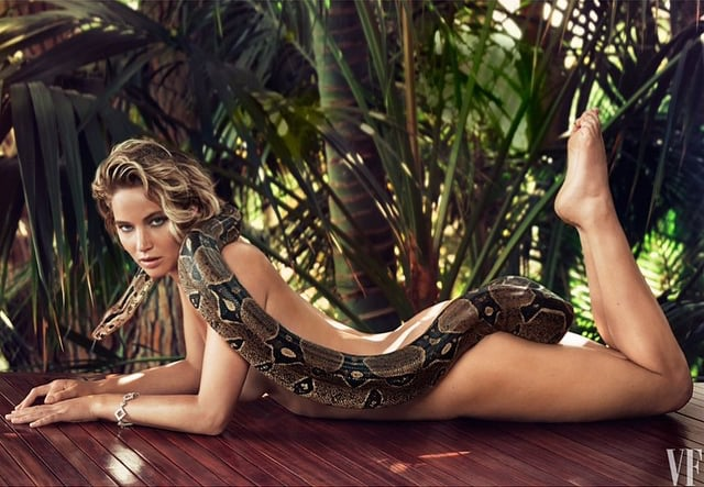 When She Was Brave Enough to Pose With This Boa Constrictor