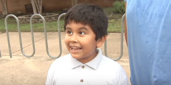 If Only We Could All Be Like This Fourth-Grader On His First Day Of School