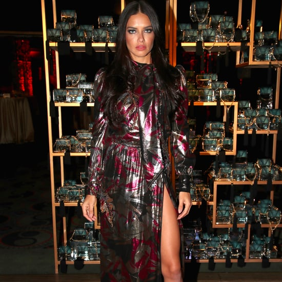 Adriana Lima's Best Outfits in 2016