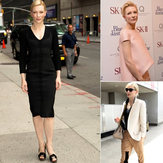 Cate Blanchett Steps Out in Balenciaga and Alexander McQueen