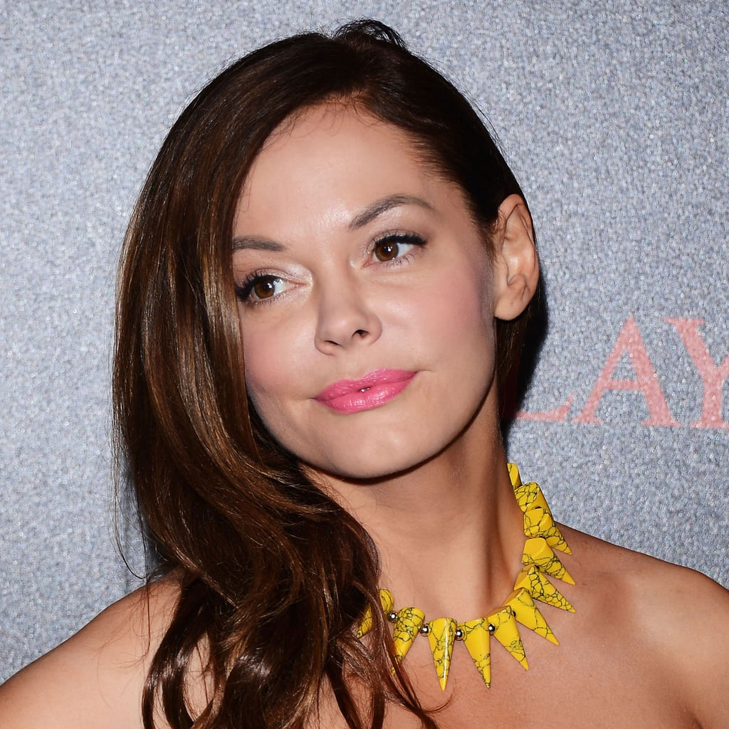 Rose McGowan at the Replay and Simple Minds Concert