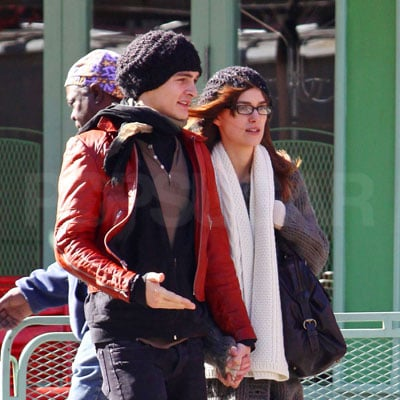 Keira Knightley and Rupert Friend in NYC