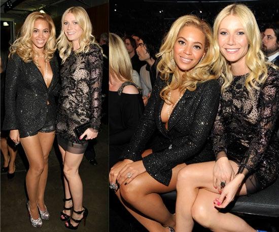 Beyonce and Gwyneth Paltrow Grammys 2011