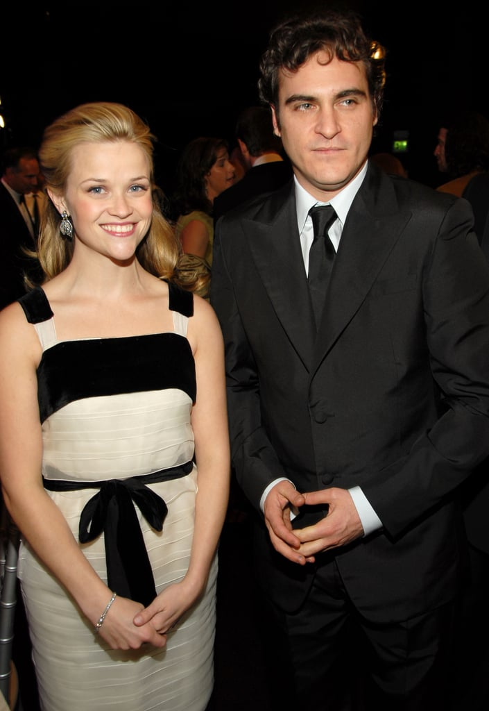 Onscreen couple Reese Witherspoon and Joaquin Phoenix were side by side at the 2006 awards.