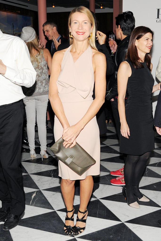 We were anything but neutral about Natalie Joos's sleek style at W's New York bash.