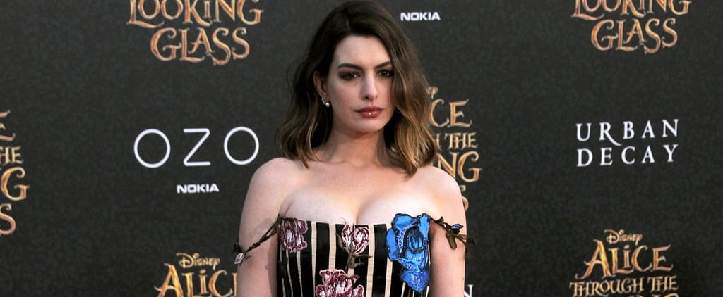 We're Pretty Sure Anne Hathaway Found This Miraculous Dress in Wonderland