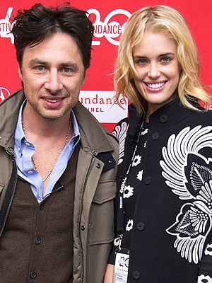 Zach Braff and Taylor Bagley Split
