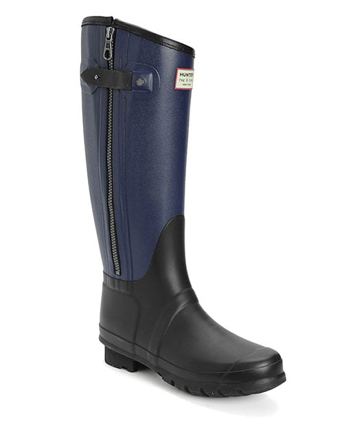 Wellies tend to be more in the dependable than thrilling category of our shoe wardrobes, but thanks to the always-cool touch of Rag & Bone and the heritage craftsmanship of Hunter, this pair of black and navy rubber boots ($295) mange to be both. Now where's a puddle that needs jumping in?  — Melissa Liebling-Goldberg, fashion and beauty director