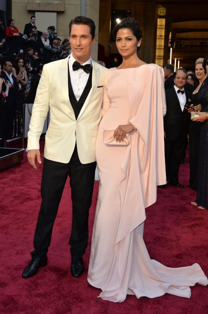 Matthew McConaughey at the Academy Awards