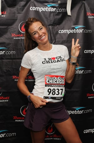 Celebs at the Chicago Rock 'n' Roll Half Marathon: Kelly Bensimon, Maria Menounos, Jake Pavelka, Giuliana Rancic