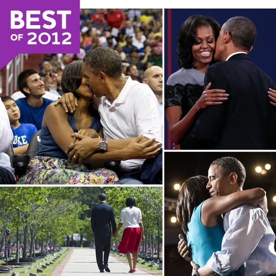 Barack and Michelle's Sweetest PDA Moments of 2012