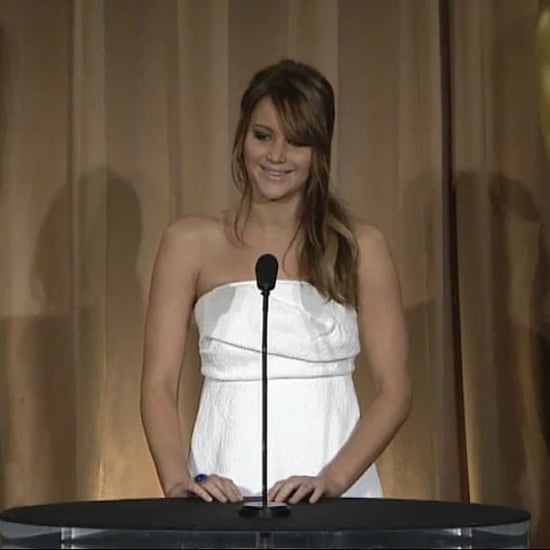 Jennifer Lawrence at Oscars Luncheon | Video