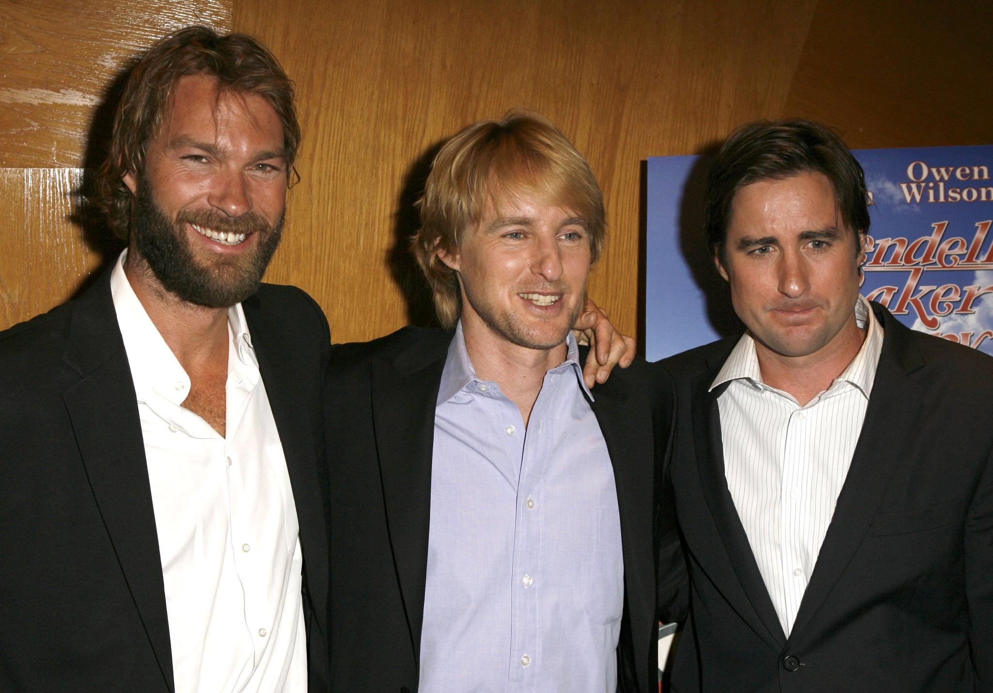 Owen, Luke, and Andrew Wilson | Celebrity Siblings You ...