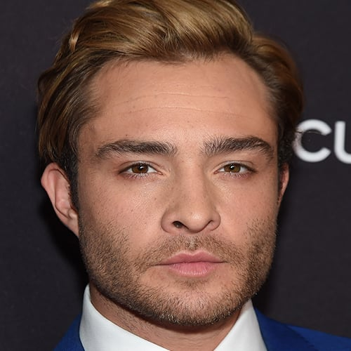 Ed Westwick Blond Hair