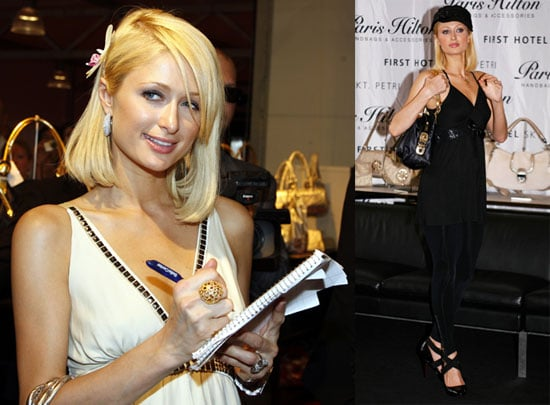 Photos of Paris Hilton at Copenhagen Fashion Week